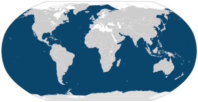 Humpback Whale habitat map