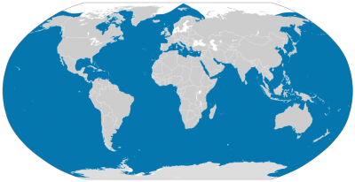 Killer Whale habitat map