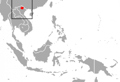 Tonkin Snub-Nosed Monkey habitat map