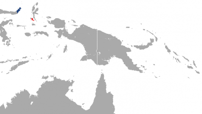 Celebes Crested Macaque habitat map