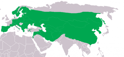 Eurasian Eagle-Owl habitat map