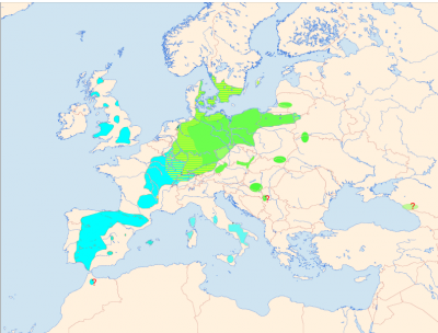 Red Kite habitat map