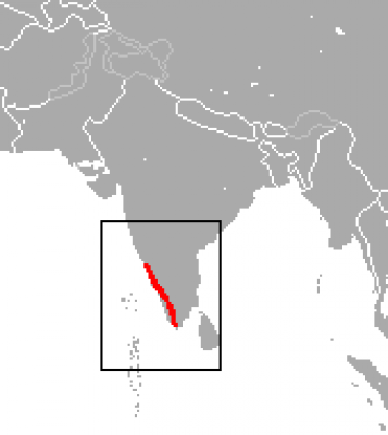 Lion-Tailed Macaque habitat map