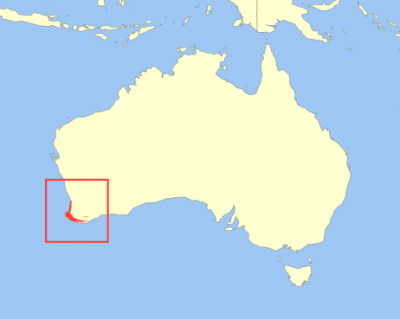 Quokka habitat map