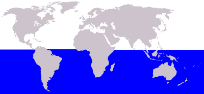 Antarctic Minke Whale habitat map