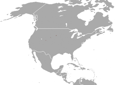 Black-Footed Ferret habitat map