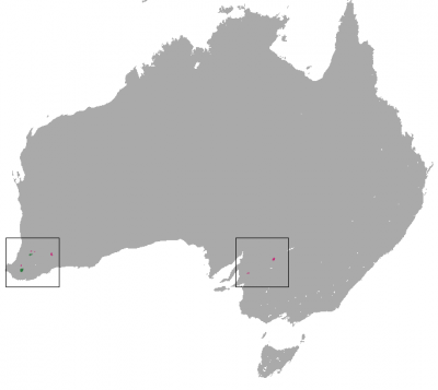 Numbat habitat map